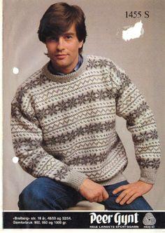 Breiborg 1455 S Fair Isle Knitting, Knitting Designs, Color Patterns, Knitwear, Knit Crochet, Men Sweater, Design Inspiration, Boys, Vests