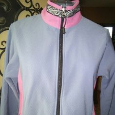 Copper River Fleece jacket Copper River fleece jacket from Alaska pink grey and black size extra small but can also fit a small Copper River Fleece Jackets & Coats