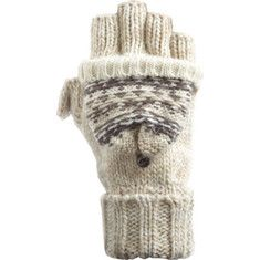 Acorn+Blair+Flip+Mitt+-+Ivory+with+FREE+Shipping+&+Returns.+The+Blair+Flip+Mitt+is+made+of+a+wool-blend+with+faux+fur+linings,+with+