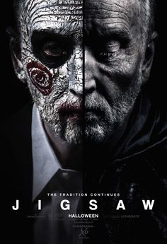 High resolution official theatrical movie poster ( of for Jigsaw Image dimensions: 1400 x Starring Laura Vandervoort, Tobin Bell, Callum Keith Rennie, Matt Passmore Film 2017, Horror Movie Posters, Horror Movies, Laura Vandervoort, Jigsaw Movie, Jig Saw, Men In Black, Movies To Watch Online, Full Movies Download