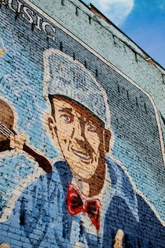 Mural at State Street Bristol, TN.