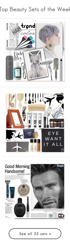 """Top Beauty Sets of the Week"" by polyvore ❤ liked on Polyvore featuring beauty, Living Proof, Classified, R+Co, Deepa Gurnani, BaByliss Pro, T3, Beauty, hair and Verso"