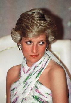 Diana - State Visit to Nigeria 1990 #CatherineWalker