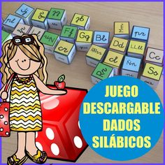 DADOS SILÁBICOS PLANTILLA DE LETRAS – Infosal Big And Rich, Blog, Psp, Phonological Awareness Activities, Preschool Reading Activities, Educational Activities, 3 Year Olds, Blogging
