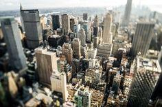 New York Top of de Rock van John Sassen