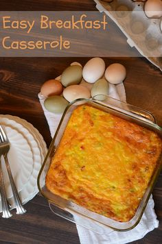 Bless This Mess: Easy Egg and Potato Breakfast Casserole