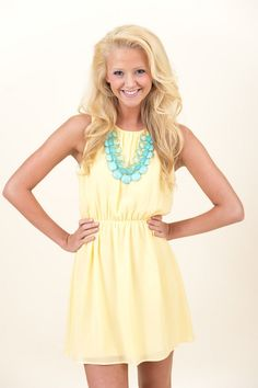 Butter Me Up Dress - Dresses   The Red Dress Boutique