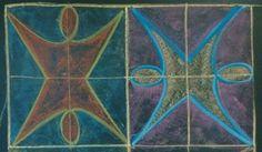 Dessins de formes 2eme classe Double symétrie I.rochat
