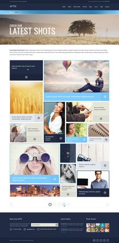Appic - Bussines & Technology PSD Template  #design #webdesign #template #web #graphic #psd #photoshop #website #business #gallery #grid #portfolio