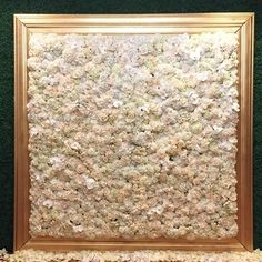 Can't get enough of this framed flower wall! @butterflyfloral @floralart_decor @fswestlake More