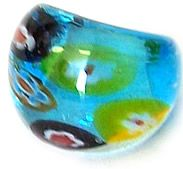 Murano Glass Ring with Free Venice Postcard