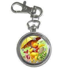 winnie the pooh watch key chain watch