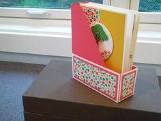Mini Magazine Folder for 12x12 Cardstock