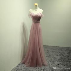 Taoo Zor Bridesmaid Dresses 2018 New Fashion Pink Pleat Bodice Crystal Sashes  Wedding Party Dresses robe Formal dress Plus Size(China) 7557a4b52bce
