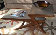 The rocket coffee table.  www.lifestylescomo.com