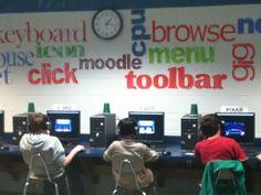 computer classroom walls - Google Search