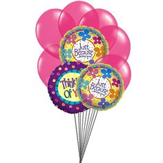 Send balloons today in from our online balloon shop. Balloons arrangements for birthday or anniversary and more occasions. Order Balloons, Send Balloons, Balloons Online, Valentines Balloons, Mylar Balloons, Latex Balloons, Birthday Balloons, Balloon Bouquet Delivery, Balloon Delivery