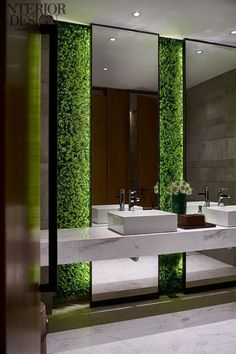 Vertical Garden in a bathroom. Surreal. | Vertikaler Garten im Bad. Surreal #bathroom #verticalgarden #badezimmer #vertikalergarten