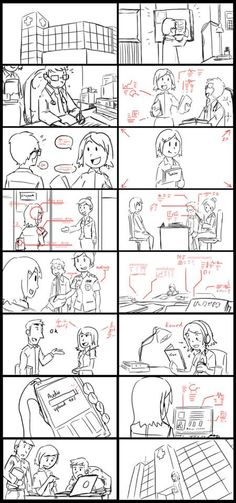 Storyboard For Overseas Restaurant Tvc Agency  Yellow Thumbprint