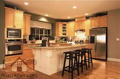 Image detail for -Luxury Kitchen Decorating Ideas: contemporary kitchen design pictures . Luxury Kitchen Design, Contemporary Kitchen Design, Luxury Kitchens, Cool Kitchens, Modern Kitchens, Kitchen Modern, Contemporary Decor, Beautiful Kitchens, Hgtv Kitchens