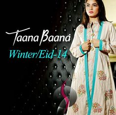 Taana Baana Fall / Winter Collection 2014 | Taana Baana Eid Dresses - She9 | Change the Life Style