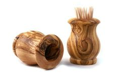 Olive Wood Toothpick Holder.  Attractive way to store and display Dad's toothpicks for a great price.