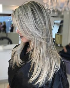 50 Cute and Effortless Long Layered Haircuts with Bangs Layered Long Haircut For Straight Hair Layered Haircuts With Bangs, Haircuts Straight Hair, Long Hair With Bangs, Hairstyles With Bangs, Layered Hairstyles, Easy Hairstyles, Black Hairstyles, Pretty Hairstyles, Straight Bangs