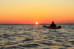 Kyaking on the Currituck Sound in Corolla, NC
