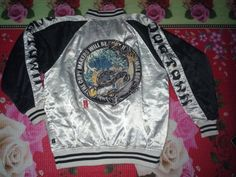 Embroidered sukajan jacket by dogtown logo dragon by CROSSXSTORE