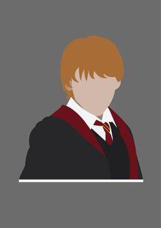 Fanart Harry Potter, Harry Potter Ron Weasley, Harry Potter Tumblr, Harry Potter Canvas, Arte Do Harry Potter, Harry Potter Painting, Harry Potter Artwork, Harry Potter Drawings, Harry Potter Wallpaper