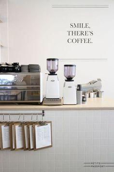 Confessions Of A Coffee Addict Menu Restaurant Design, Deco Restaurant, Modern Restaurant, Cozy Coffee Shop, Coffee Shop Design, Coffee Shops, Small Coffee Shop, Coffee Maker, Coffee Machine