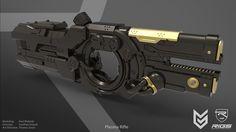 ArtStation - RIGS - Plasma Rifle, Paul Widelski