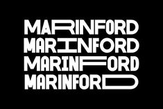 MARINFORD FONT by Andika Fez on @creativemarket #display #font #handpicked Police, Brand Fonts, Sans Serif Fonts, Modern Fonts, Freelance Graphic Design, Letterhead, New Fonts, Branding Design, September