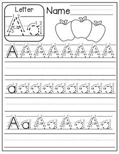 FREE A-Z handwriting worksheets! Just print, place in sleeve protectors and use with a dry erase marker! Alphabet Worksheets, Alphabet Activities, Preschool Worksheets, Preschool Learning, Preschool Activities, Alphabet Crafts, Handwriting Worksheets For Kindergarten, Free Alphabet Printables, Printable Worksheets
