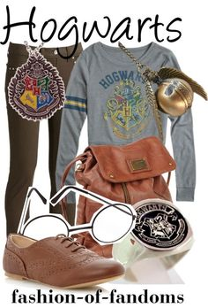 Hogwarts themed outfit! Yes please!