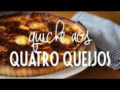 Aprenda a receita do quiche aos quatro queijos | Catraca Livre