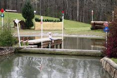 cross country jumps, Greg Schlappi Cross Country Jumps Landrum, SC Water Jumps