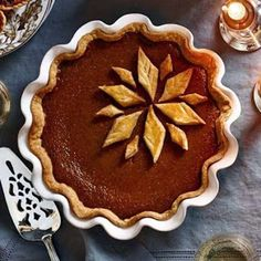#RecipeOfTheDay: There is no #Thanksgiving dessert more iconic than the traditional pumpkin pie! Try this classic recipe.  Classic Pumpkin Pie: http://bit.ly/1APYFja