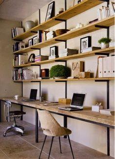 ARQUITETANDO IDEIAS: Organizando em estantes diferentes