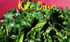 """Kale chips are great healthy yummy snacks for kids.  Featured last week on """"A Healthy You With Carol Alt"""" on Sat and Sun, 4:00 PM, on Fox.  Be sure to watch!http://carolalt.com/2013/09/carol-alt-a-healthy-you-fox-recap-episode-1/"""