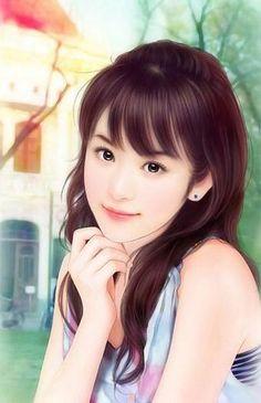chinese art - 绘现代美女 #118