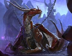 chained dragon Know this all to well