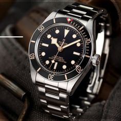 Dream Watches, Cool Watches, Rolex Watches, Tudor Watch Men, Tudor Black Bay, Omega Watch, Clock, Collections, Pure Products