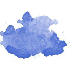 splatter blue
