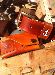 Anchor Belt and Cardwallet