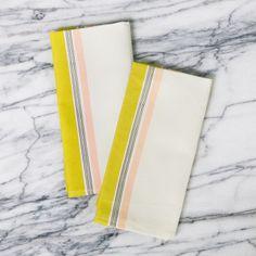 set of two napkins | stripes