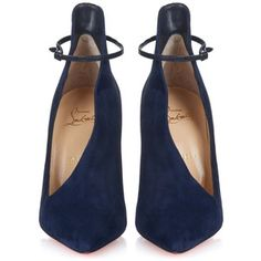 Christian Louboutin Vampydoly suede pumps