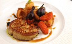 Recette de Foie gras poêlé par Alain Ducasse