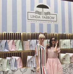 Lunettes Trendy: Linda Farrow / Collection de lunettes de soleil 20...