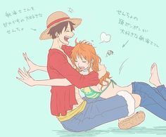 Anime One Piece, One Piece Comic, One Piece Ship, One Piece 1, One Piece Fanart, One Piece Luffy, Anime Couples, Cute Couples, Luffy X Nami